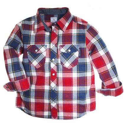 Our new LumberJack Button Down.
