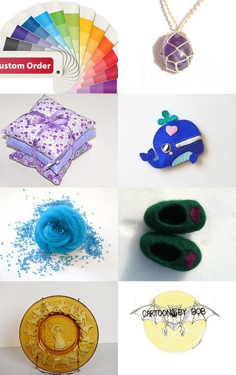 Pretty treasury featuring our Brabonts Red Fat Quarter Bundle....fresh for spring ♥