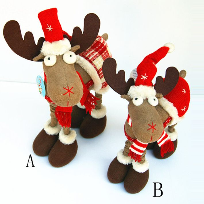 Aliexpress.com : Buy Free shipping 2013 lovely christmas deer indoor christmas ornament christmas gift standing deer SHB153 from Reliable top christmas gifts children suppliers on Men's choice $13.99