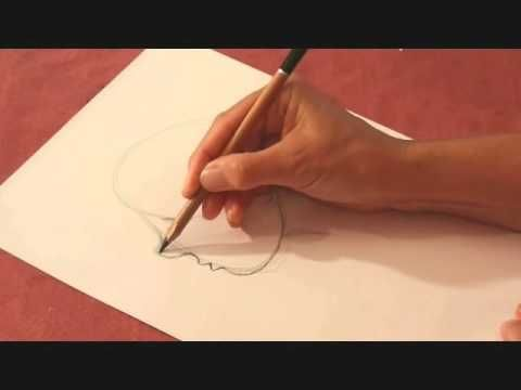 Drawing Lesson: How to draw a child's face and adapt it for illustration