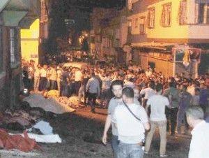 Niño suicida detona bomba en boda turca