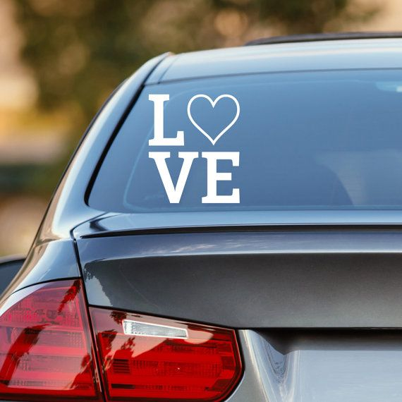 Love decal love heart decal love car decal heart decal heart car decal love wall decal love love sticker laptop decal vinyl decal
