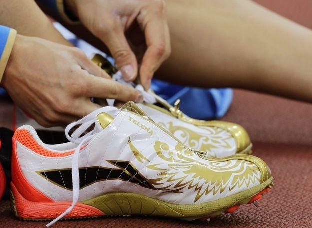 Pole Vault (Russia) - Yelena Isinbayeva's shoes