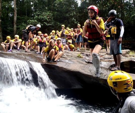Canyoning in Sri Lanka