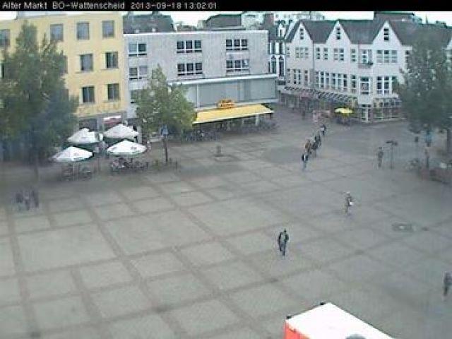 Live camera Bochum, Alter Markt in Wattenscheid Wattenscheid, Germany.