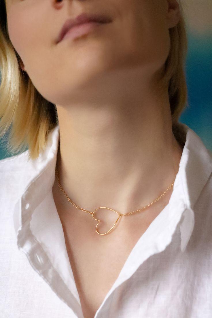 pour la Saint Valentin, réalisez facilement un DIY collier coeur, grâce à ce tutoriel simple de la blogueuse DIY et mode Artlex.