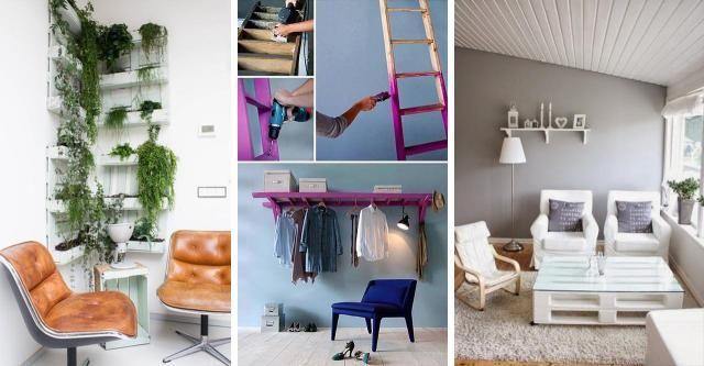 Odlotowe pomysły na meble wykonane ręcznie! Jakie to genialne! [PRZEGLĄD POMYSŁÓW] #DOM #MEBLE #DIY #RĘCZNIE #ROBIONE