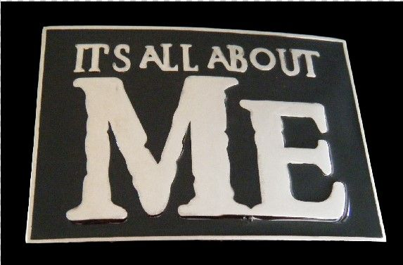 Its All About Me Funny Humor Cool Belt Buckle #itsallaboutme #itsallaboutme #mememe #allaboutmebuckle #allaboutmebeltbuckle #coolbuckles #funnybuckles #beltbuckle