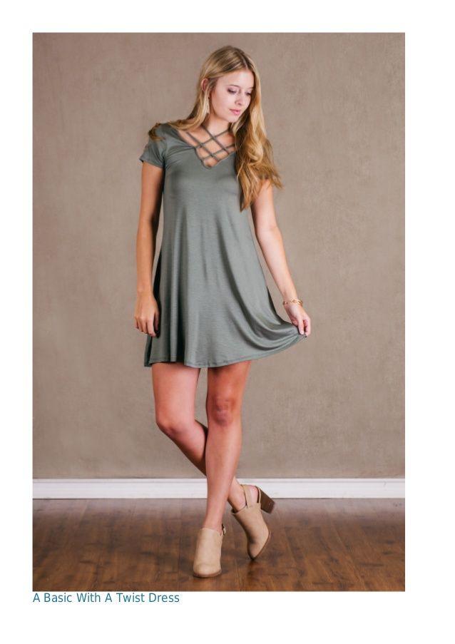 A Basic With A Twist Dress