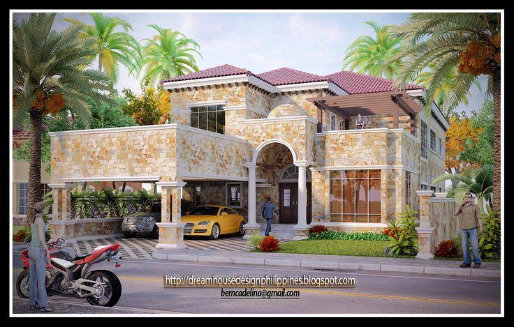 Modern Mediterranean House Plans mediterranean houses | dream house design philippines