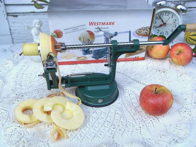 Vintage Küchengeräte - Westmark Apfelschäler Apfelteiler f. Apfel Tarte - ein Designerstück von artdecoundso bei DaWanda