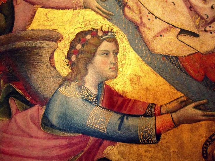 Benedetto di Bindo, Assunzione della Vergine (part.)