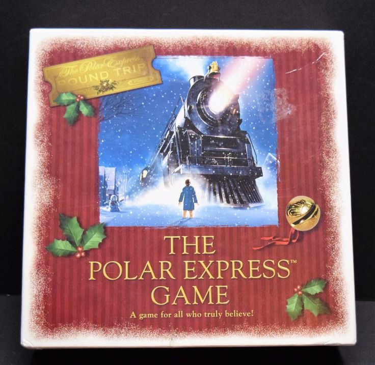 The Polar Express Board Game Warner Bros. Entertainment Excellent! Christmas #TMWarnerBros