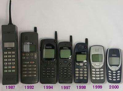 weet je nog meer oude telefoons te benoemen?