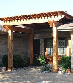 Attaching A Pergola To A Sloping Roof Google Search