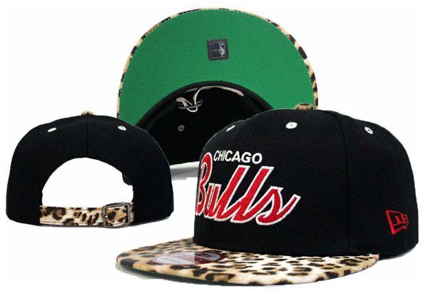 NBA NEW ERA x Chicago Bulls Strap Back Hats Black 800 8780