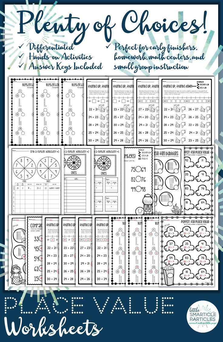 Place Value Worksheets For Two Digit Numbers These Make Great Centers Early Finisher Work Small Group Instr Place Value Worksheets Place Values Math Centers [ 1128 x 736 Pixel ]