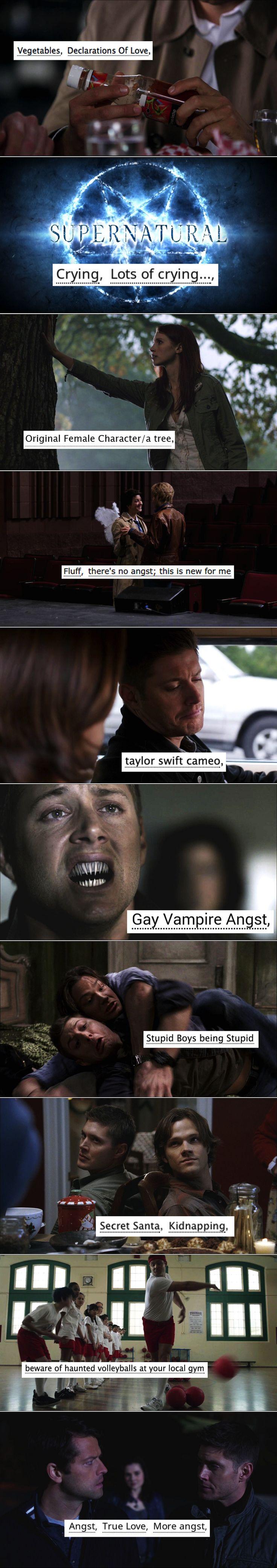 supernatural + ao3 tags
