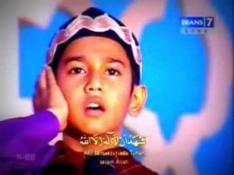 Amazing Kids - Subhanallah Adzan yang Merdu oleh SYAKIR DAULAY - TRANS 7