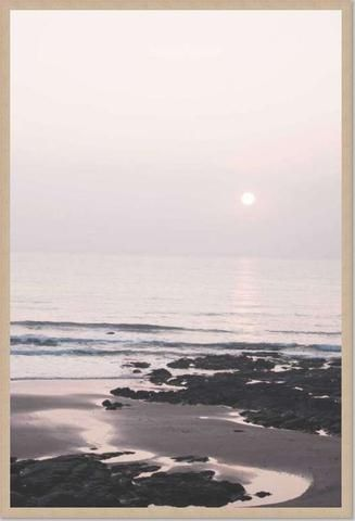 Blushing Sun Framed Print by The Art & Framing Company | Simple ...