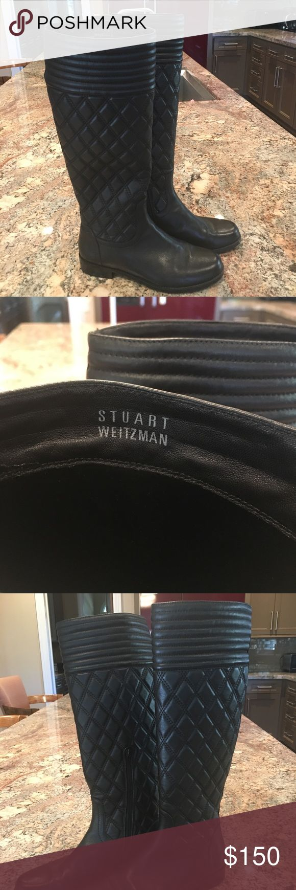Stuart Weitzman Quilted Riding Boot I just hade to have these for my trip to Venice & Paris in 2014. And then there was aqua alta in Venice - we were trapped our hotel for a few hours and nearly missed our flight to Paris where the weather was slushy as well. I ended up only wearing my waterproof UGGS on that trip. And I've rarely worn them in Houston. They are nice to dress up my Lululemon leggings, but otherwise I wear my black Giueseppe Zanotti cowboy boots most often. These boots are in…