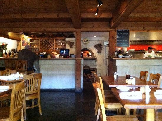 Interior of Cafe Rustica