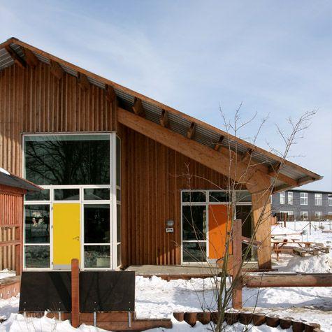 Exners Tegnestue A/S - Børnegården bifrost i Hjortshøj