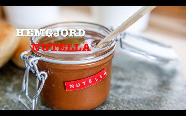 Recept på hemmagjord Nutella som är helt fantastikt god!