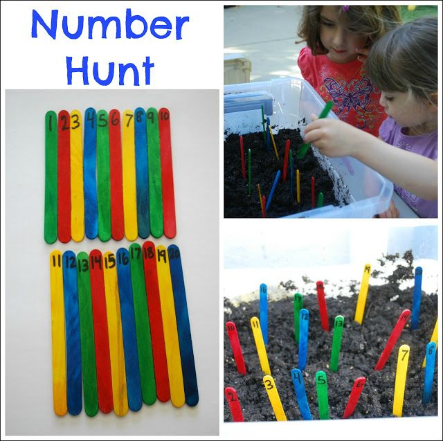 Learn Through Movement - Number Hunt