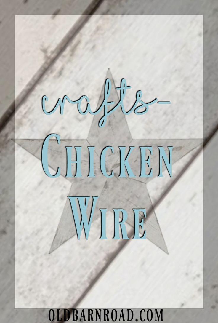 28 best Crafts-Chicken Wire images on Pinterest | Craft, Mesh ...