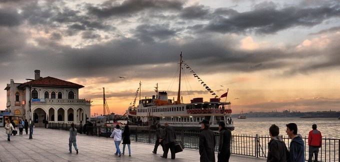 Kadıköy port