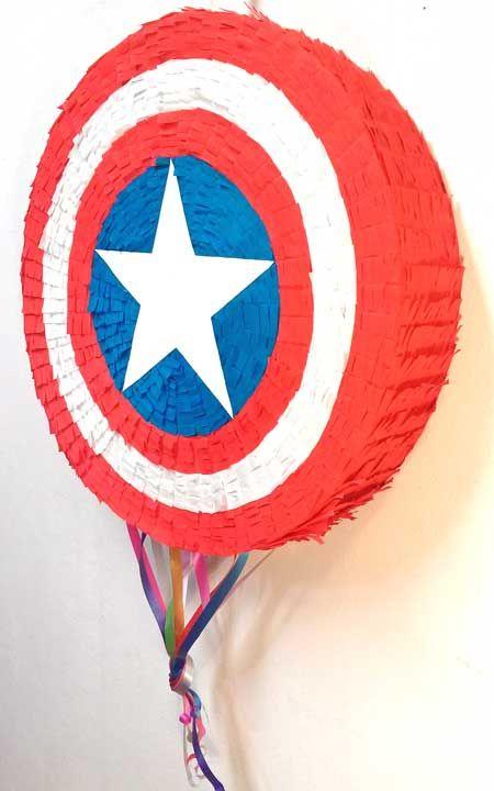 Piñata Escudo de Capitan America