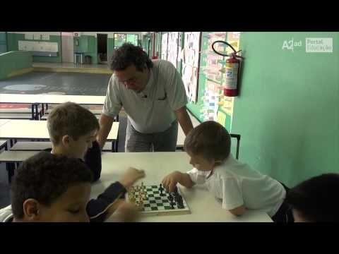 Jogo de xadrez é utilizado como instrumento de ensino em unidade escolar | Secretaria da Educação do Estado de São Paulo