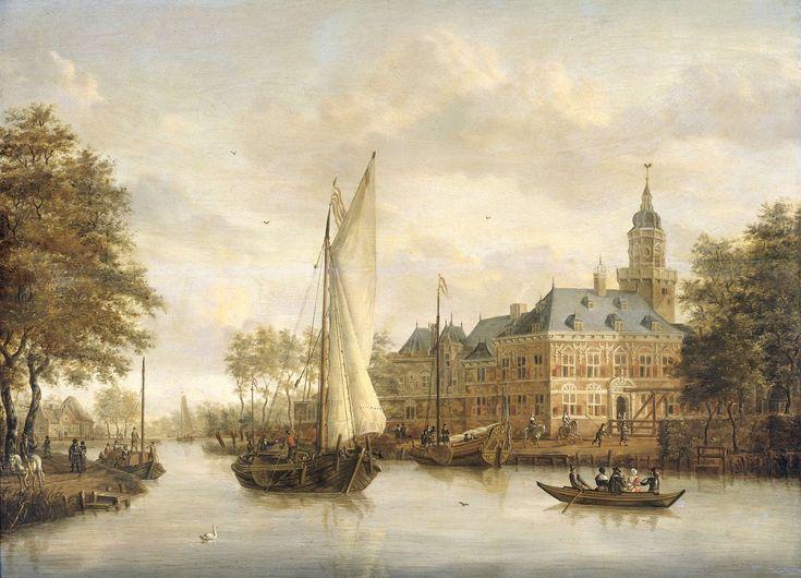 Het kasteel Nijenrode aan de Vecht bij Breukelen, Jacobus Storck, 1660 - 1686