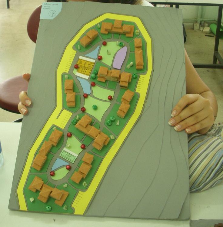 Akyazı Komşuluk Birimi Tasarımı  (1. sınıf maketim)