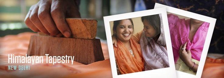 Meet our artisans working in India: http://blog.storycompany.com/scarves-that-tell-stories-and-help-women/