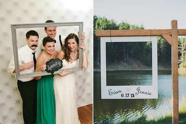 Creative Photo Booth Ideas, Frames