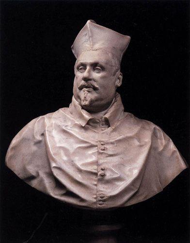 Bernini, Cardinal Scipione Borghese, 1632   by arthistory390