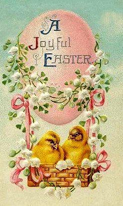 527 best easter vintage postcards images on pinterest vintage a joyful easter vintage m4hsunfo