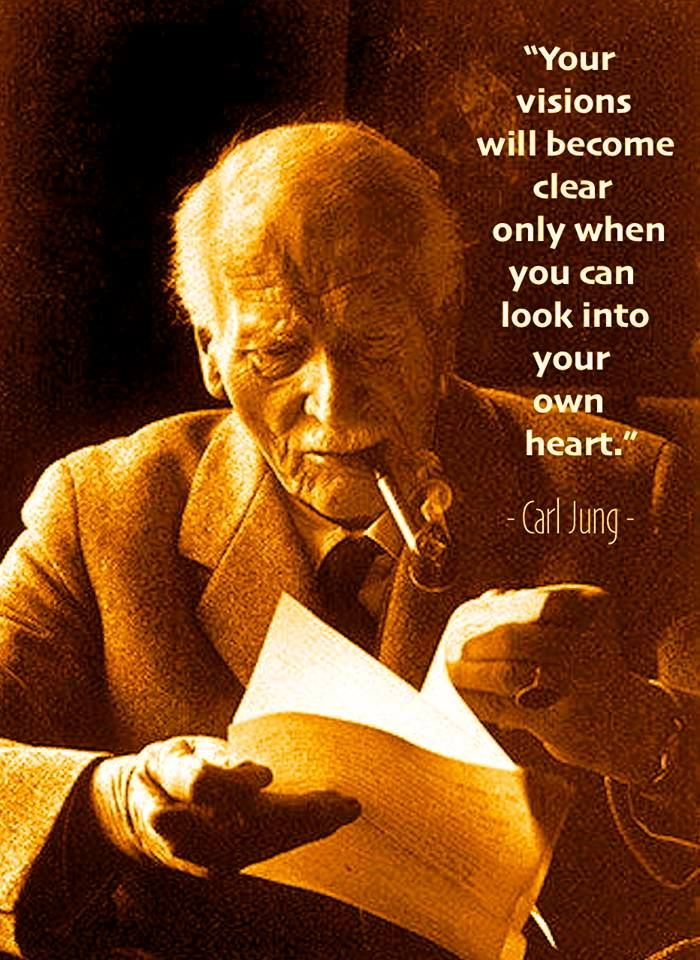 Vision, heart - Carl Jung