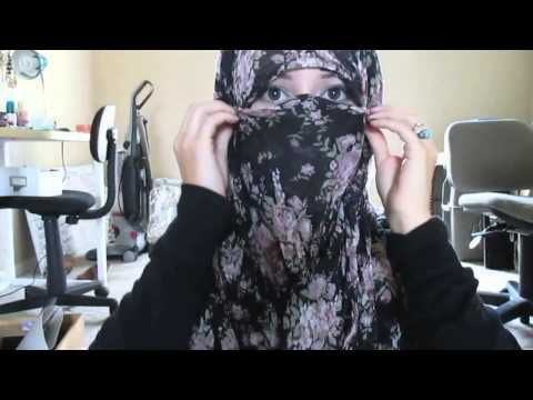 2 REQUESTED NIQAB STYLES WITHOUT INNER CAP || Afsana Queeni - YouTube