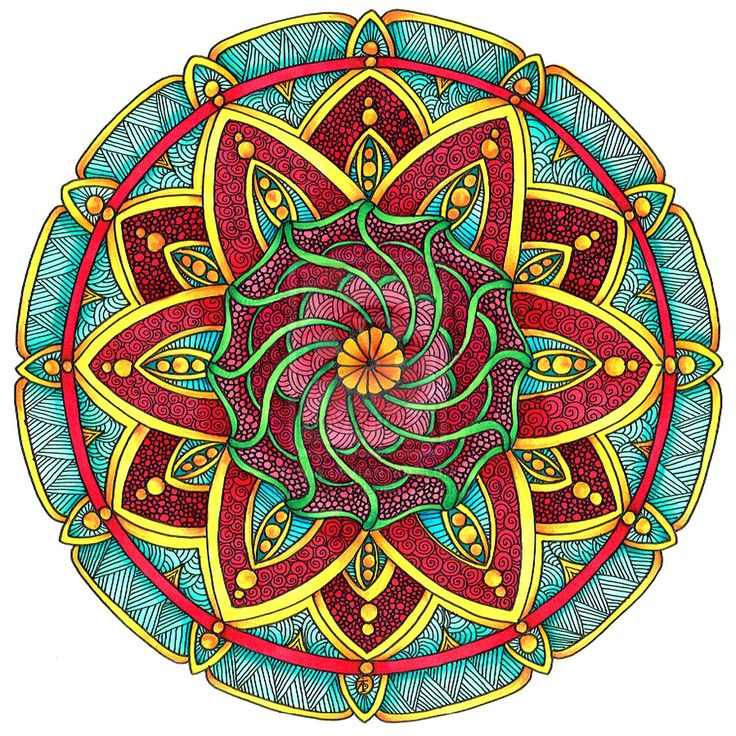 Love this Mandala. Not necessarily the colors but the design is amazing.
