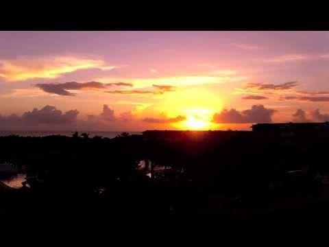 "Sunrise at Iberostar Laguna Azul, Varadero Cuba 2013, musical track ""Masterpiece"". #Cuba #Varadero"