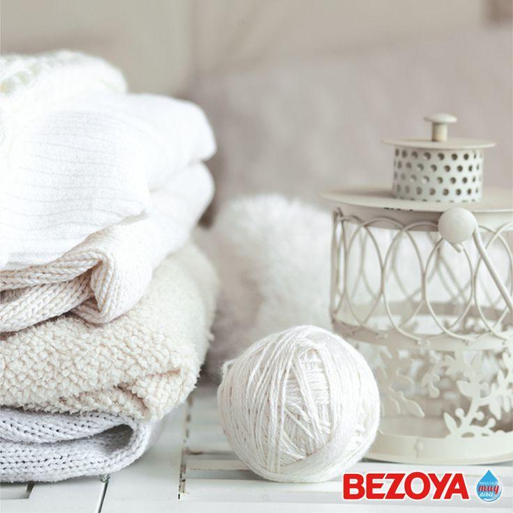 #bezoya, lana, blanco, crear, frío, abrigar, jersey, madeja, tejer