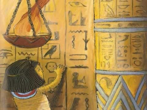 Cuento. Fátima, una momia muy responsable. Proyecto Anual Antiguo Egipto.