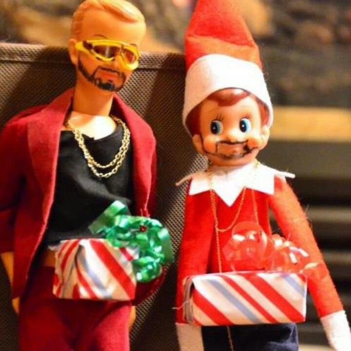 Elf On The Shelf Meets Dick In A Box Hysterical