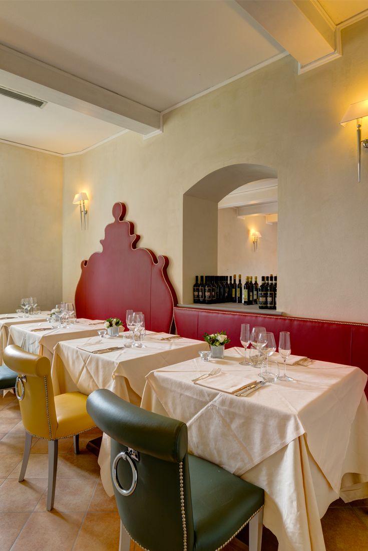Il Conventino a Marignolle - Sala #ristorante piccola per #cenaromantica  #lusso #toscana
