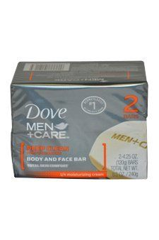 Deep Clean Body and Face Bar Soap Men by Dove, 2 Count by Dove. $3.27. Deep Clean Body and Face Bar by Dove for Men. Deep Clean Body and Face Bar by Dove for Men - 2 x 4.25 oz Soap. Dove For Men Deep Clean Bar 2Pk - 24 Pack. Save 86%!