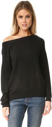 Shop Now - >  https://api.shopstyle.com/action/apiVisitRetailer?id=609735553&pid=uid6996-25233114-59 Vince Off Shoulder Cashmere Sweater  ...