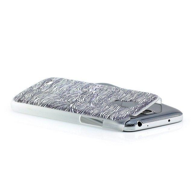 Zebra Girl Hard Back Cover für Samsung Galaxy S4 Mini